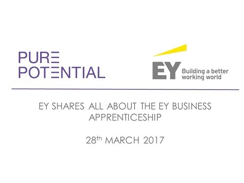 EY tells all about their Business Apprenticeship