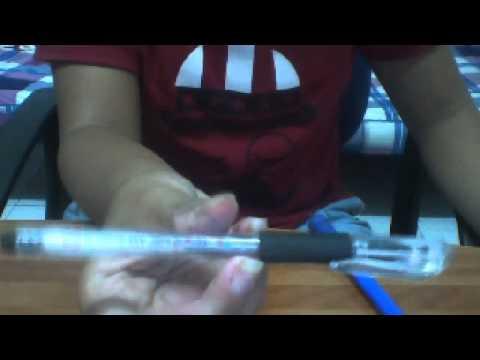 HK Cách quay bút cơ bản ( Kiểu riêng )