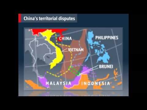 China's territorial disputes, ZO-Azië