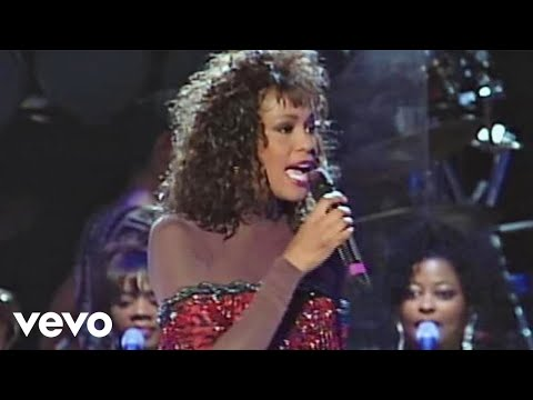Whitney Houston - I'm Every Woman (Live at HBO's The Concert For A New South Africa, 1994)