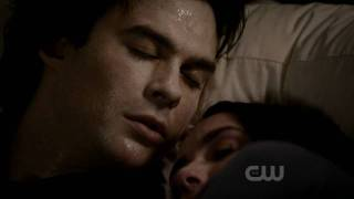 "The Vampire Diaries 2x22 ** Best Scene ** | Elena Kiss Damon | Levi Kreis - ""I Should Go"""