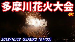 多摩川花火大会 GX7MK2 2018年10月13日 (01/02) 4K 無編集