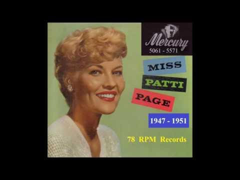 Patti Page - 78 RPM Mercury Records - 1947 - 1951