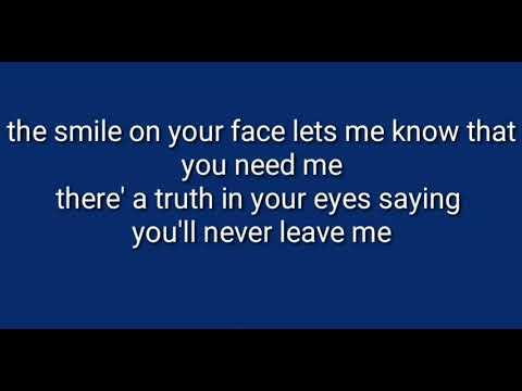 Ronan Keating - When You Say Nothing At All ( Lyrics)