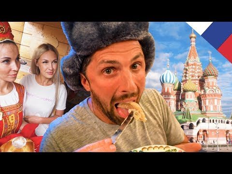 EPIC RUSSIAN FOOD