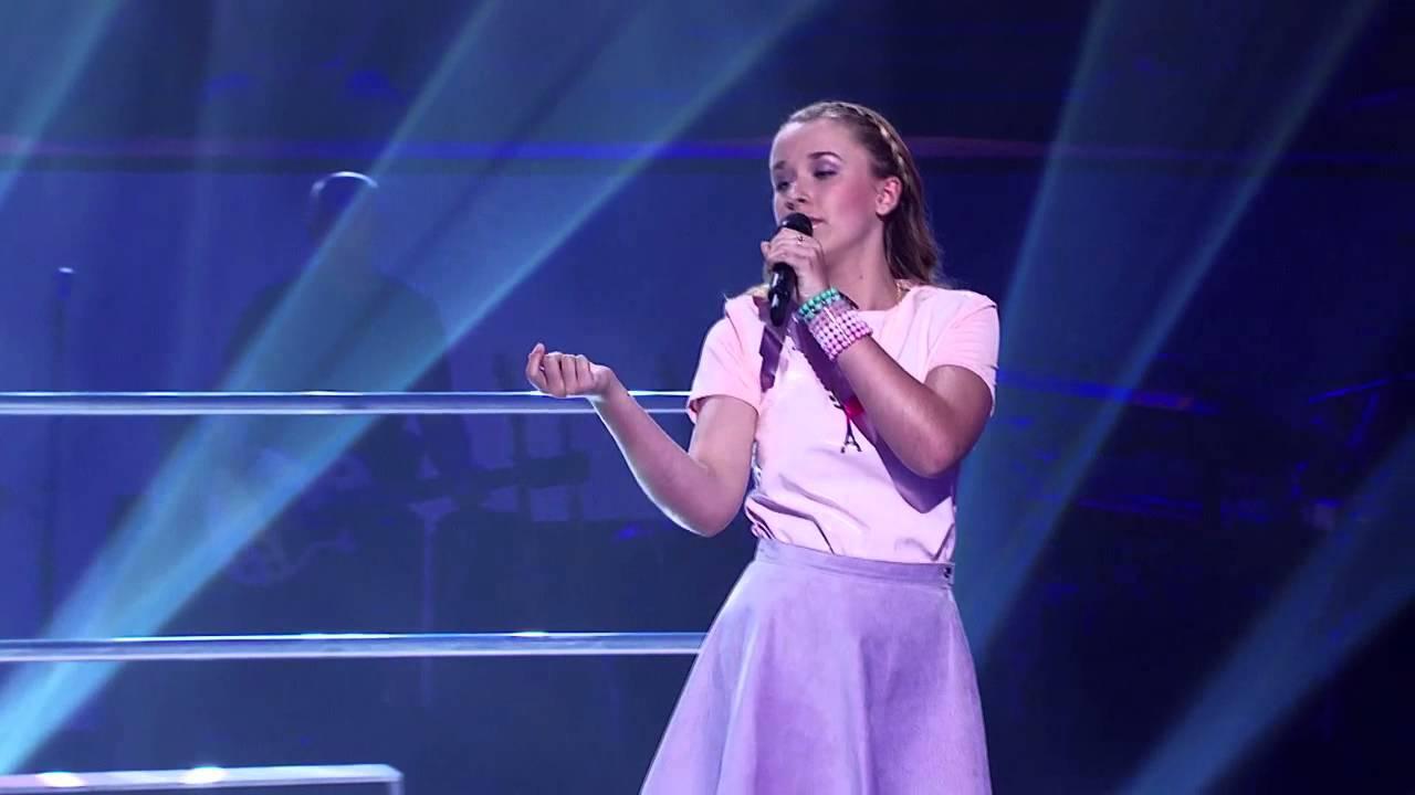 Imogen sings Feeling Good | The Voice Kids Australia 2014