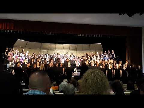 """""""This Is Me"""" Kings Mountain Middle School Chorus & Kings Mountain High School Combined Choirs"""