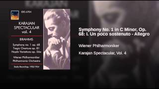 Symphony No. 1 in C Minor, Op. 68: I. Un poco sostenuto - Allegro