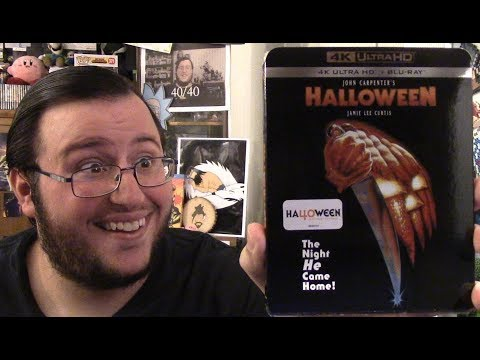 Halloween 4K Blu-ray Unboxing (The Night HE Came Home...in 4K)