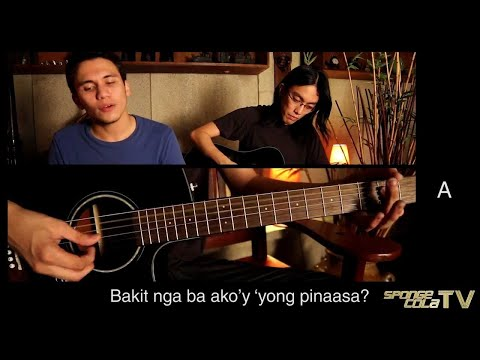 SCTV: Sponge Cola -- Di Na Mababawi (live acoustic HD + chords + lyrics)