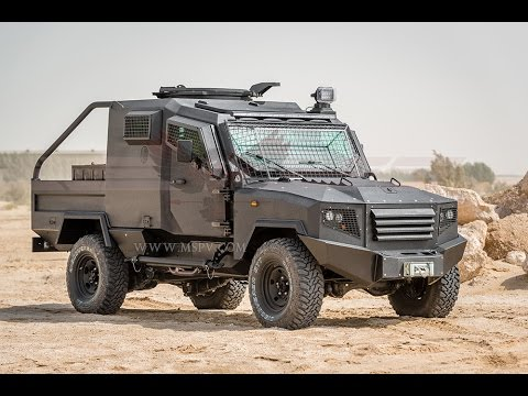 Armoured Personnel Carriers,  Defence Trucks, Border Security Vehicles - MSPV Panthera T-2
