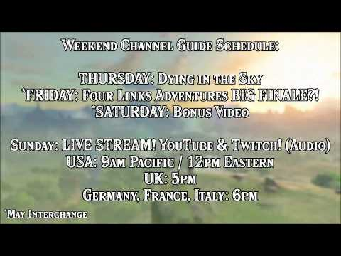 Weekend Channel Guide Schedule! BIG PLANS + stream in Mety's Channel within Zelda Breath of the Wild