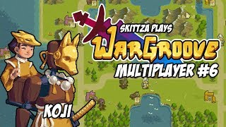 WarGroove - Multiplayer (PvP) Gameplay #6 Commander Koji