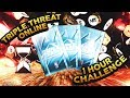 1 HOUR TRIPLE THREAT ONLINE MT MAKING CHALLENGE! WE DIDN'T LOSE A SINGLE GAME! NBA 2K19