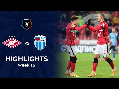 Spartak Moscow R. Volgograd Goals And Highlights