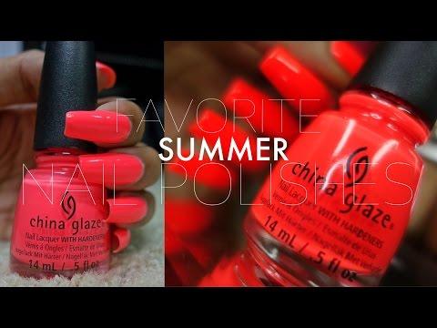 Favorite Summer Nail Polishes