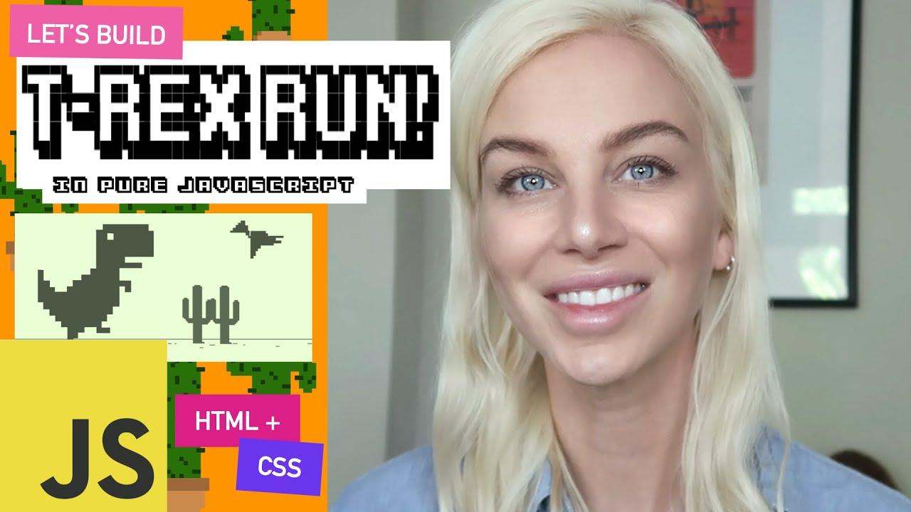 We build T-REX RUN! The popular Chrome Dino Game!