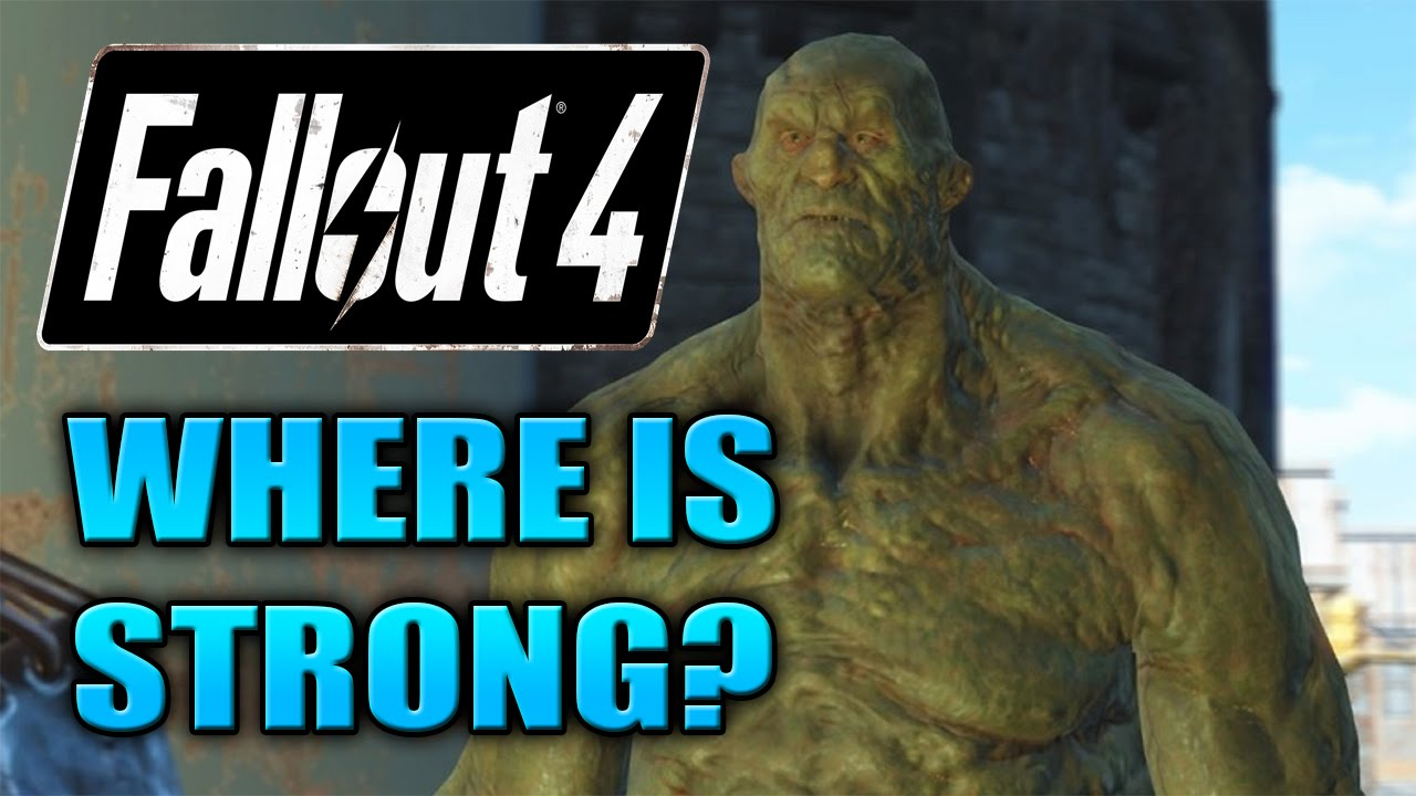 31d50e1c56ef Fallout 4 - Where to Find Strong! - YouTube