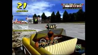 Crazy Taxi Gameplay (Dreamcast)