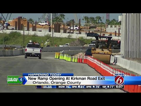 I-4 ramp to Kirkman Road sees big change