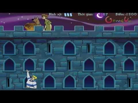 Hướng dẫn chơi game Scooby Doo: Lâu đài ma quái - Game Vui