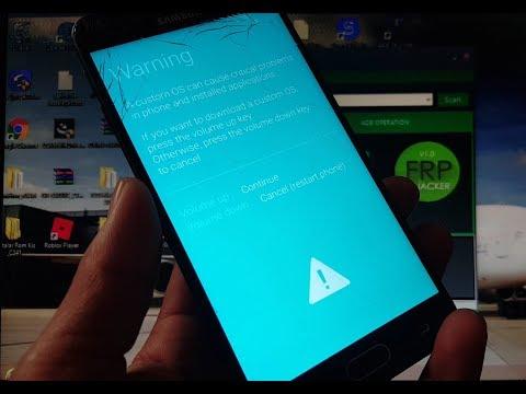 Erro no programa FRP HIJACKER  desbrickando seu Samsung