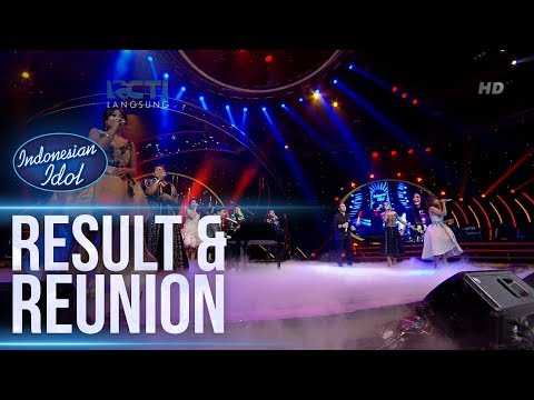 FINALIST IDOL Ft. GLENN FREDLY - KARENA CINTA (Joy Tobing) - RESULT & REUNION - Indonesian Idol 2018
