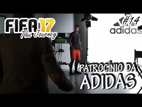 7a440e5ede5 FIFA17  14 (THE JOURNEY) - PATROCÍNIO DA ADIDAS!!! (GAMEPLAY PS4 PT ...