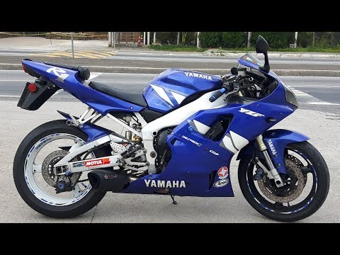 Rodolfinho da Z- Testando Yamaha YZF-R1 2001.