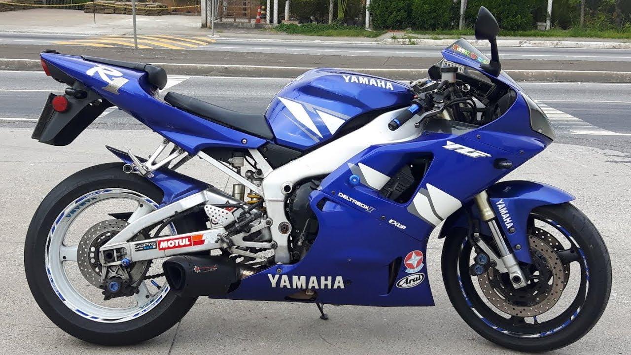 Rodolfinho Da Z- Testando Yamaha Yzf-r1 2001