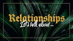 Kirche neu erleben mit Leo Bigger - Relationships 4/4 - Let's talk about sex some more