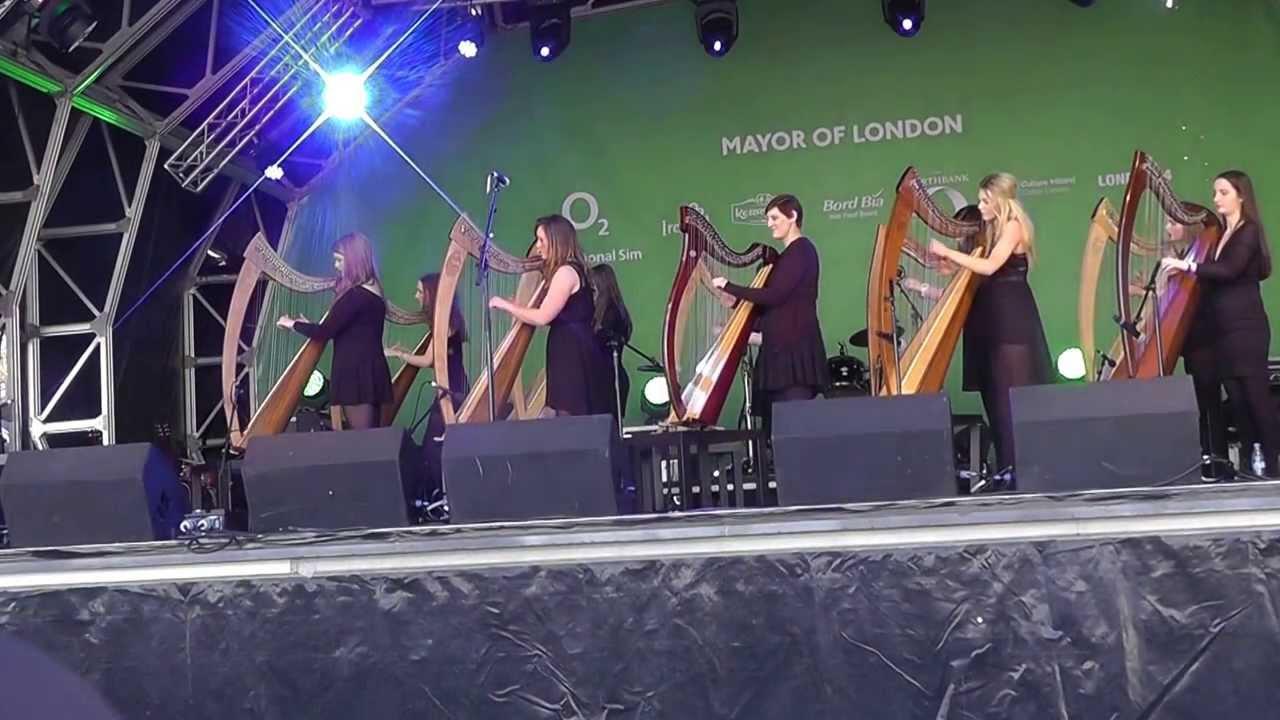 IRISH HARP ORCHESTRA - ST PATRICK'S DAY 16/03/14 - YouTube