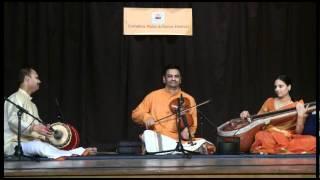 Carnatica Music & Dance Festival U.K.: Carnatic Music - Behaag - Instrumental