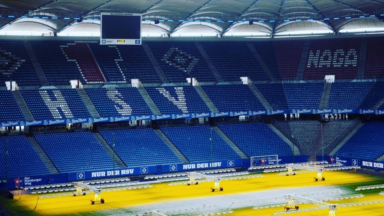 Behind The Scenes At Hamburger Sv Stadium Tour Youtube