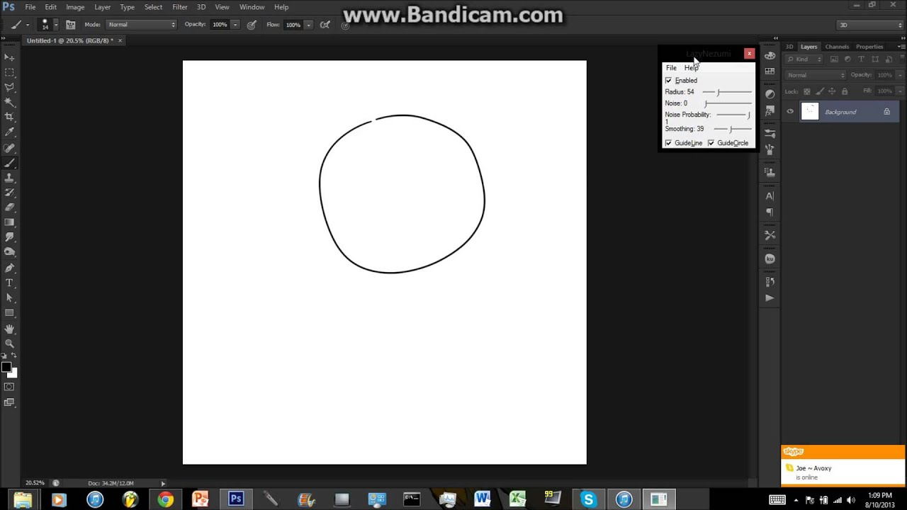 Photoshop Line Stabilizer Application For Your Lineart! (30 Day Trial)