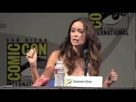 Summer Glau at Comic Con 2011 Knights of Badassdom Panel 2011 - River Tam vs Cameron