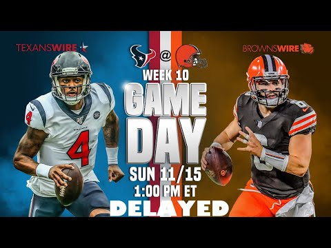 Cleveland Browns vs. Houston Texans delayed due to storm