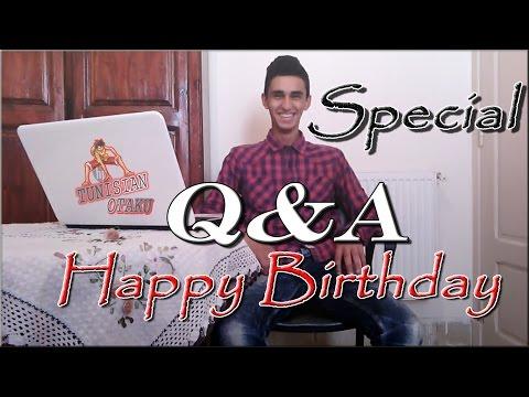 Q&A (H.B.D Tunisian Otaku)