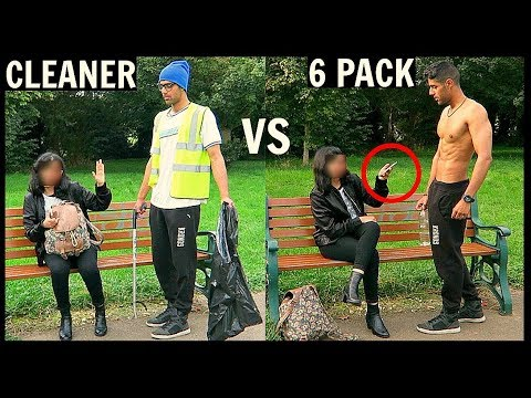 CLEANER vs 6 PACK Picking Up Girls (SOCIAL EXPERIMENT)