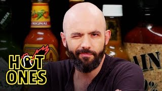 Download Binging with Babish Gets a Tattoo While Eating Spicy Wings | Hot Ones Mp3 and Videos