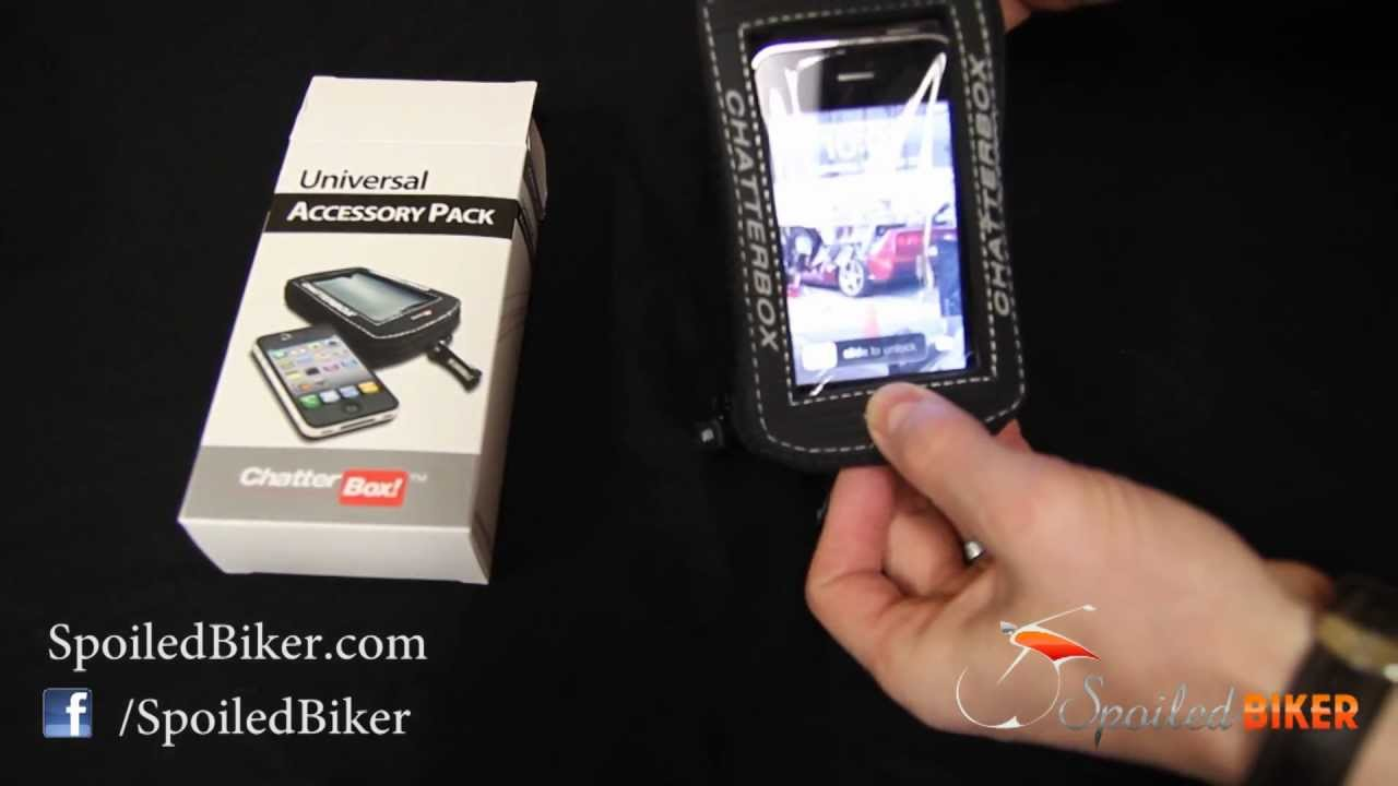 Waterproof Cell Phone Holder Motorcycle GPS Mount Case Pouch For Metal Tank