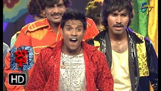 Raju Performance | Dhee 10 |  24th January 2018 | ETV Telugu
