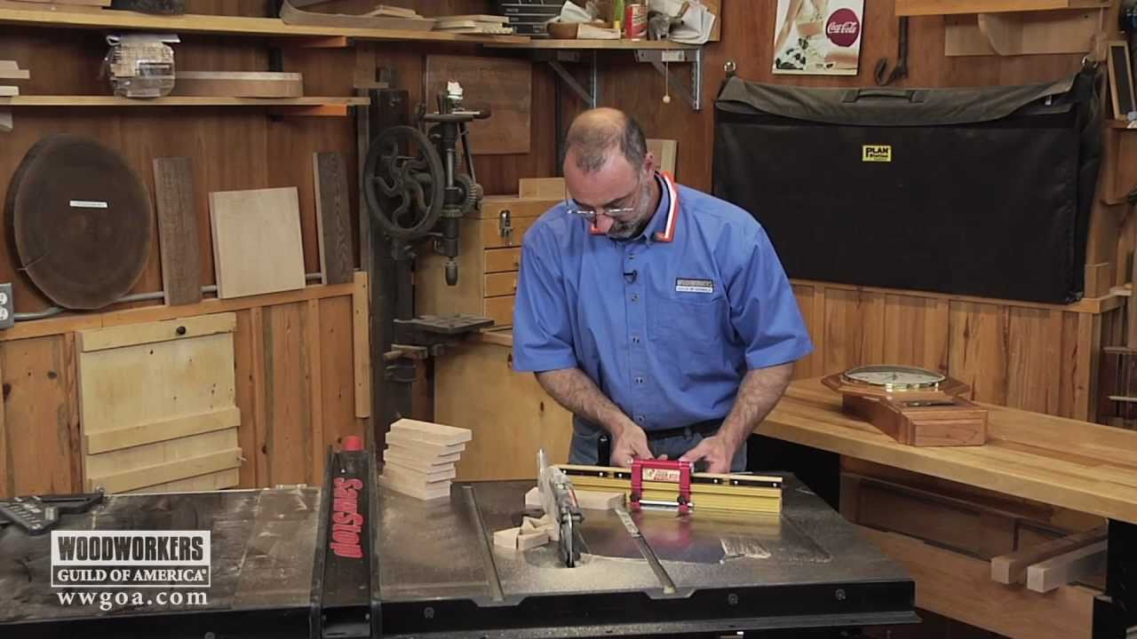 Mitering a Perfect Octagon - YouTube