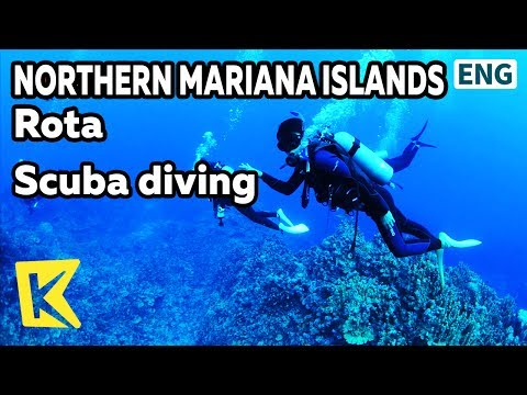【K】Northern Mariana Islands Travel-Rota[북마리아나제도 여행-로타]로타섬 스쿠버다이빙/Scuba diving/Sea/Diving point/Coral