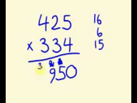 How to do Fast Multiplication-Mathematics Tutor - Math Magic and Speed Math