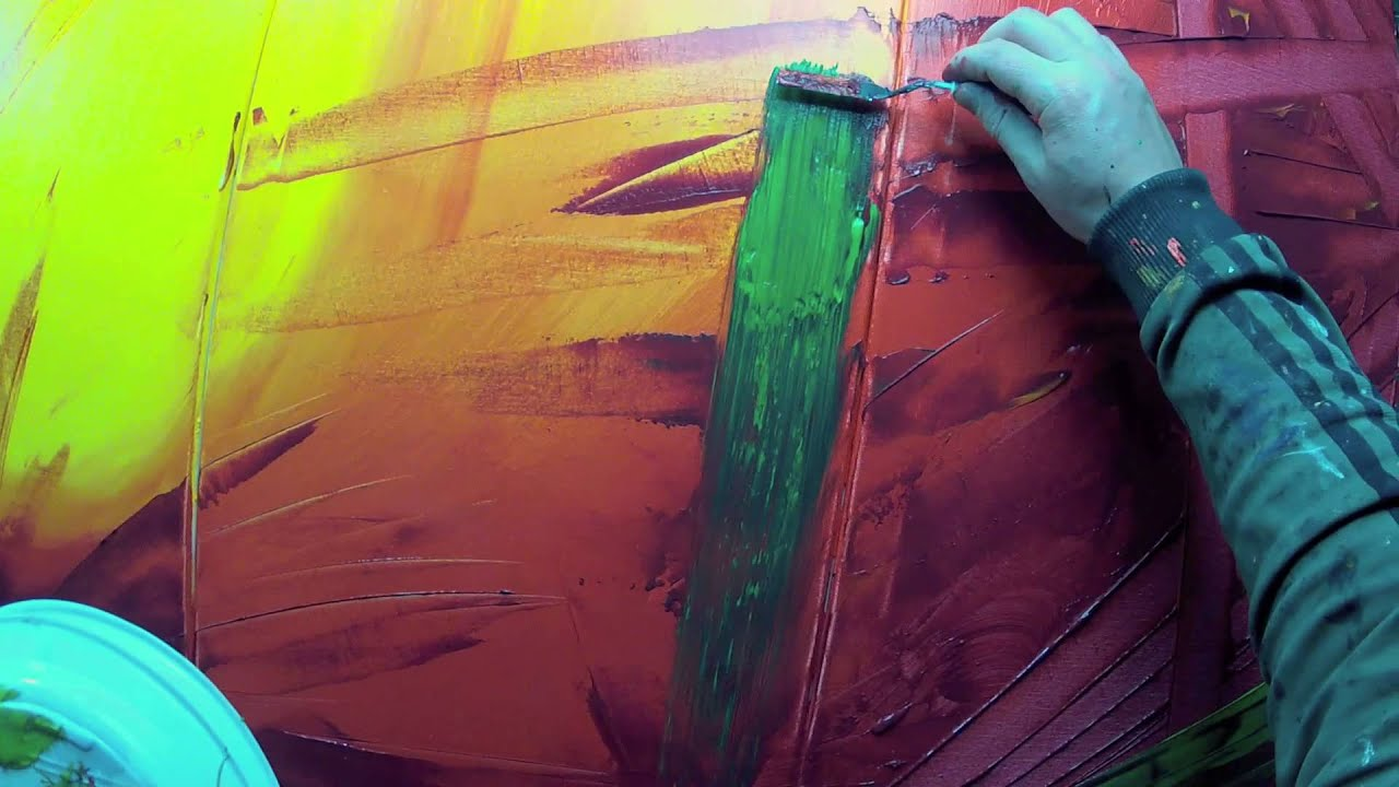 Learn How to Paint Abstract Painting with Acrylics video - Vitalba ...