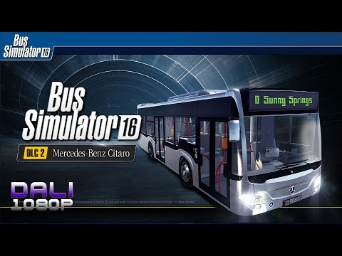 Bus Simulator 16 - Mercedes-Benz Citaro G PC Gameplay