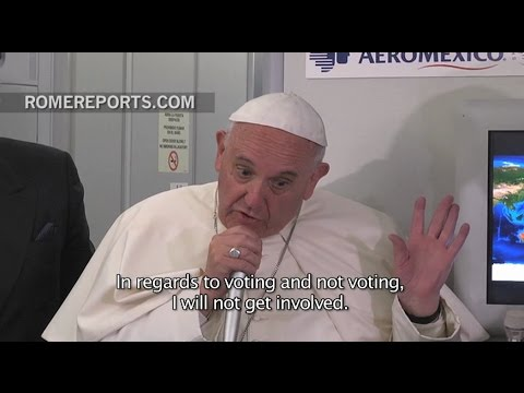 What Pope Francis said about Donald Trump