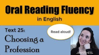 Oral Reading Fluency 25 📖 English Vocabulary and Pronunciation 🗣 Build Confidence! 💪