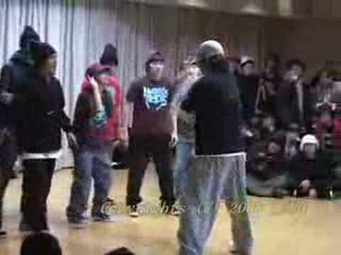 20080203 be.b-boy NAGOYA ROCS vs Jam Jack Clan semifinal 2